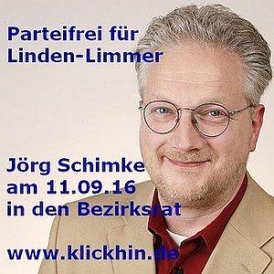 Jörg Schimke Kandidat Bezirksrat Linden-Limmer Kommunalwahl Niedersachsen 2016