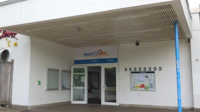 Eingang Fössebad