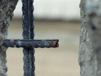Berliner Mauer, Stahlbeton