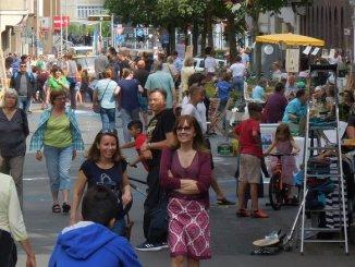 Straßenfest im Jamiel Kiez