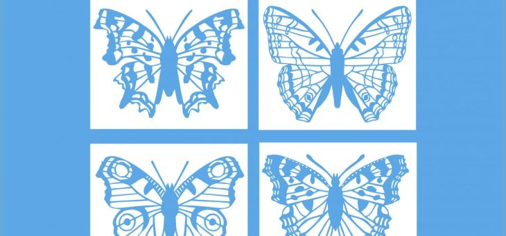 Butterfly Colouring Book: Hot Off The Press!