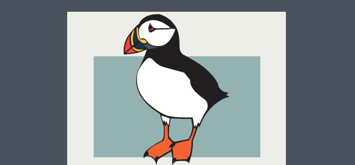 New Summer Postcard Collections: British Seabirds and British Seafood
