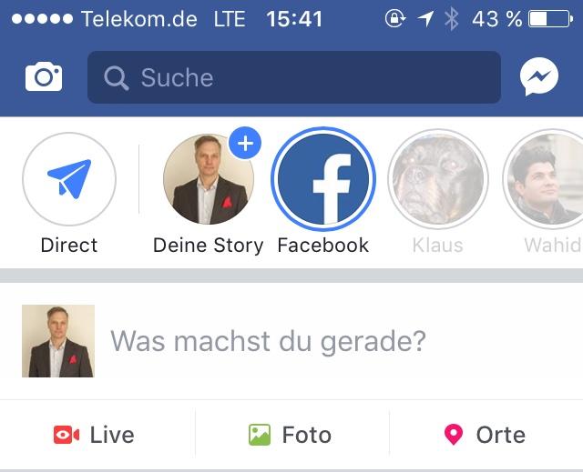 Facebook Stories