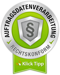 Auftragsdatenverarbeitung mit Klick-Tipp