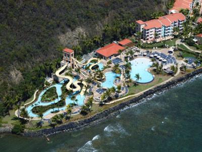 Coqui Waterpark Aerial
