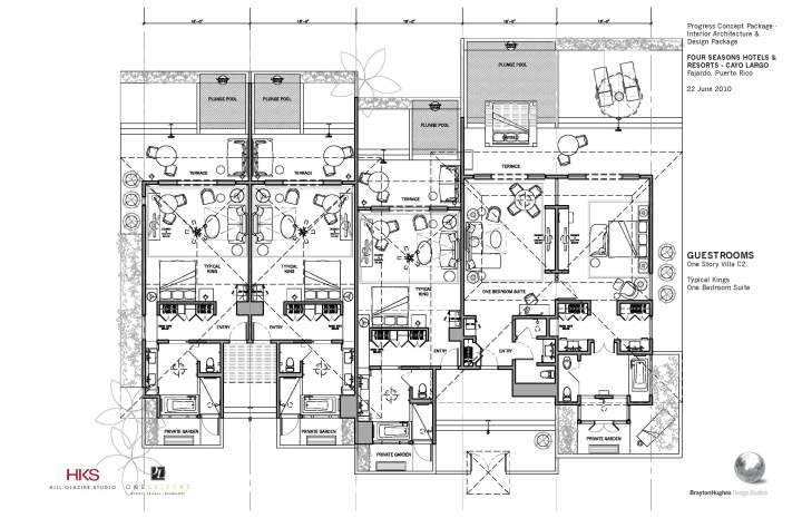 Guestroom Layout And Furnishings Plan