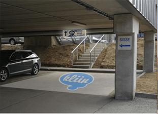 Kliin Tartu parking