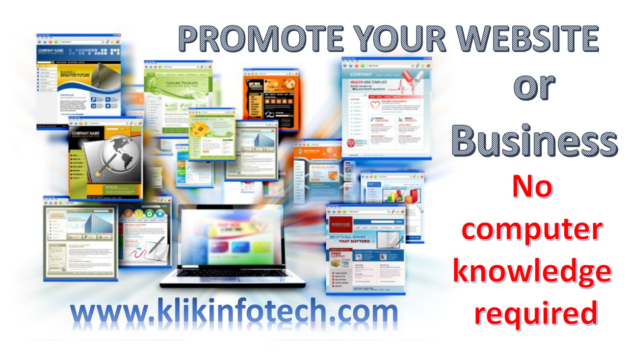 Promote your Website or Business here…