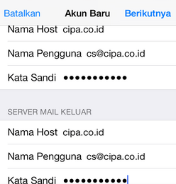 Cara Setting Email Di Iphone Dan Ipod Touch Klikhost