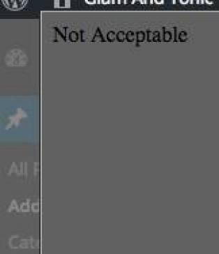 notacceptable