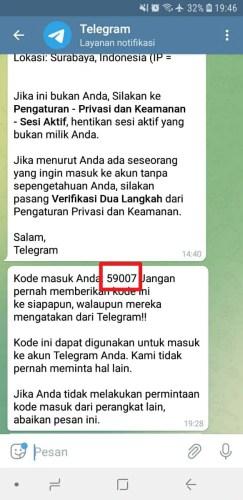 cara login telegram web