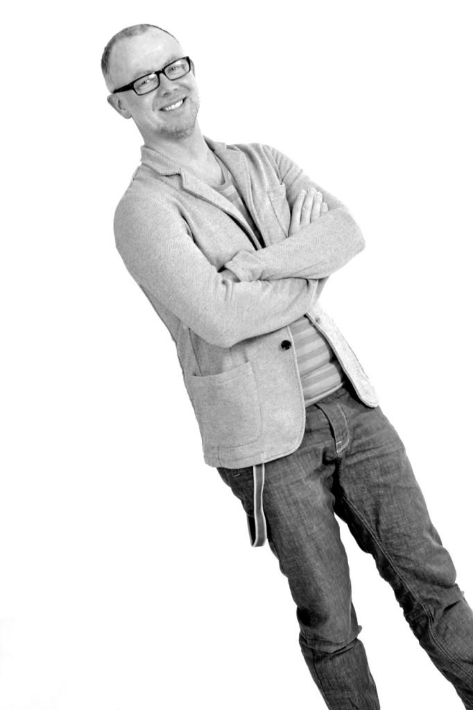 Portretfoto studio witte achtergrond