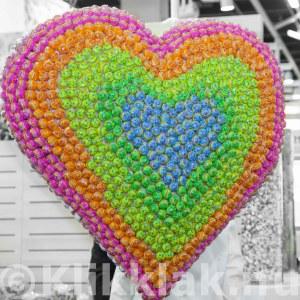 ISM zoetwarenbeurs stands Keulen 2015 groot hart met lolly's
