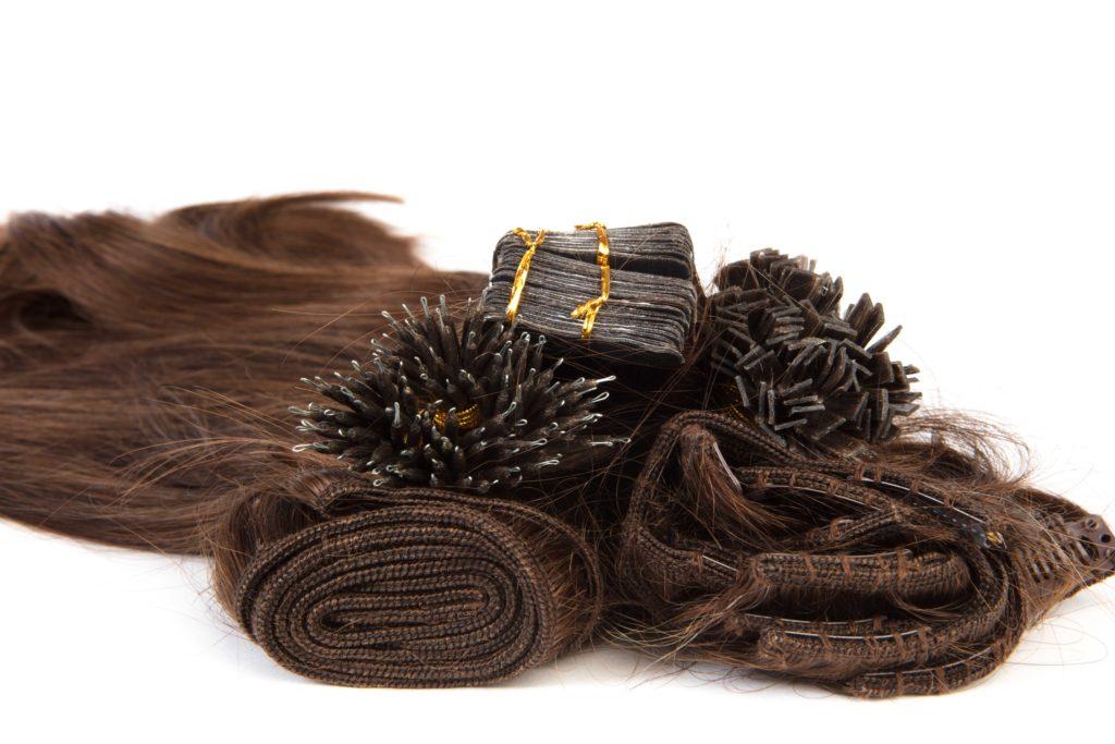 hairextensions of hariextentions productfotografie bestemd voor webshop