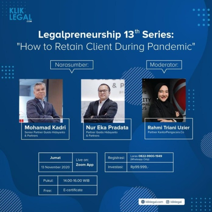 Legalpreneurship 13th