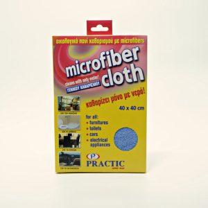 Οικολογικό πανί καθαρισμού με μικροίνες 40x40cm