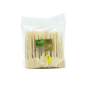 Ξυλάκι Bamboo Στυλ Κουπί 12cm (200ΤΕΜ)