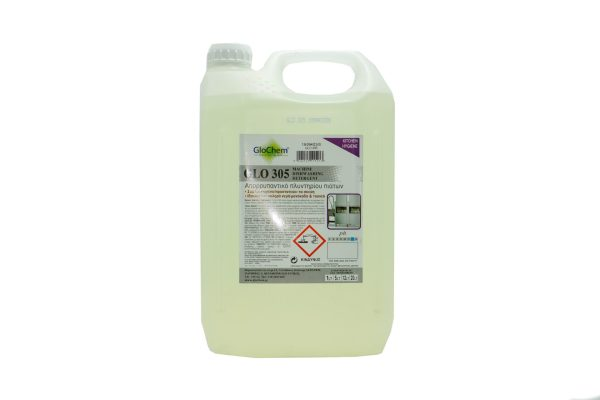 Υγρό Πλυντηρίου Πιάτων Glo 305 5lt