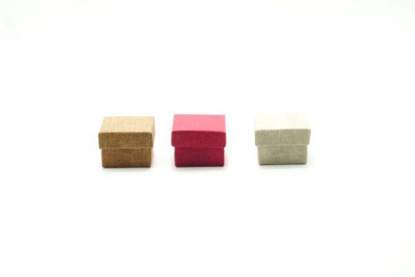 Μπιζόκουτο Υφή Καμβά 5x5x2