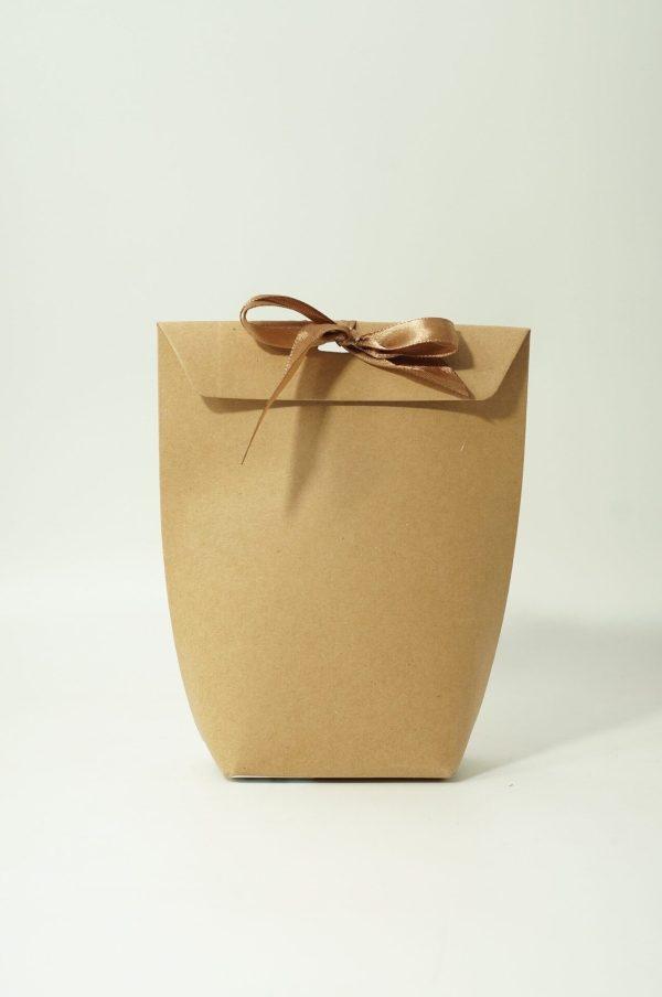 Κουτί 16.5x8x5.5cm Κράφτ με Κορδέλα