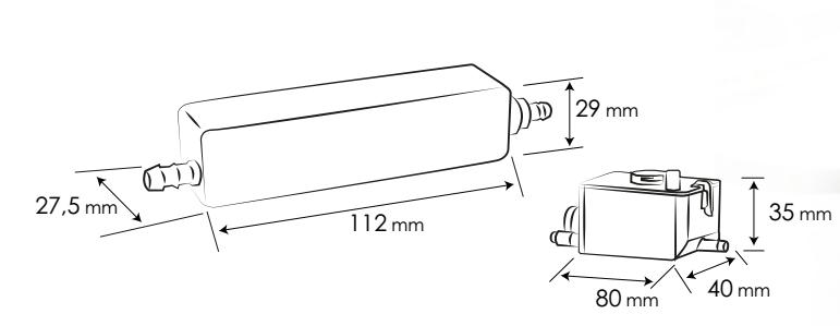 Condensate ( drain ) pump SLIM BOX