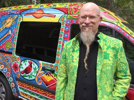Klimchak's Van becomes an Art Car