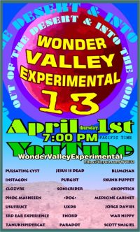 Klimchak Performance in Wonder Valley Experimental 13 festival