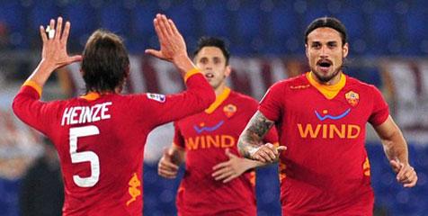 Review: Atasi Genoa, Roma Jaga Asa Eropa