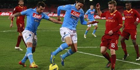 Preview: Roma vs Napoli, Ambisi Buru Tiga Besar
