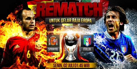 Prediksi final Euro 2012, Spanyol versus Italia