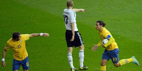Review: Delapan Gol Tercipta, Jerman-Swedia Imbang
