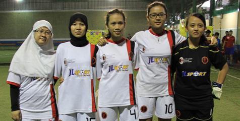 Empat Club Futsal Wanita Ikuti Bolanet Cup 2012