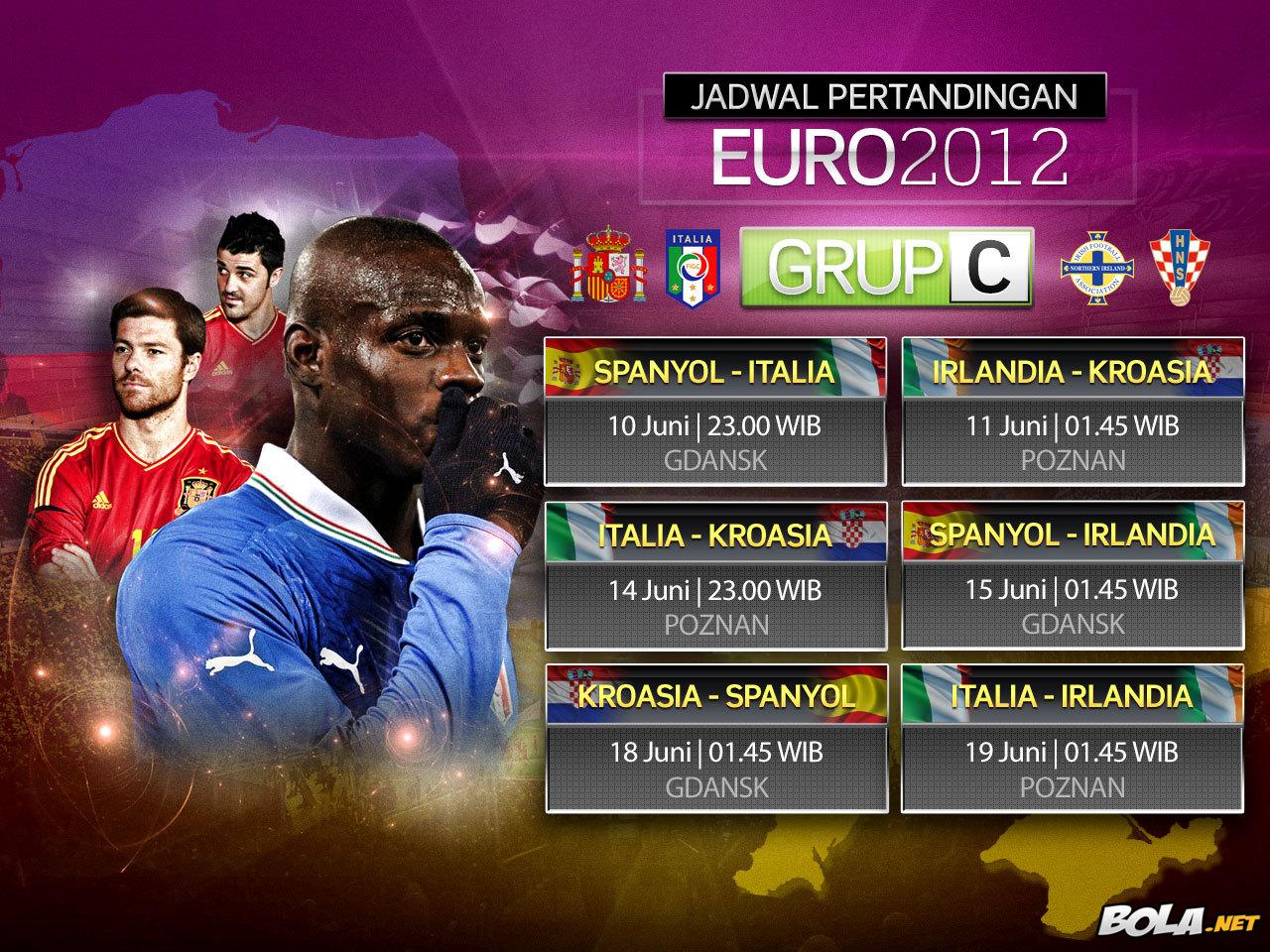 Jadwal Euro 2012 Grup C