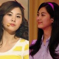 10 Member Girlband K-Pop Rambut Lurus vs Keriting