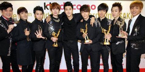 Super Junior Puncaki Daftar 'K-Pop Top 20' 2012 di Jepang