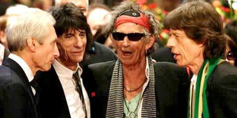 The Rolling Stones Rekaman Album Baru di Prancis