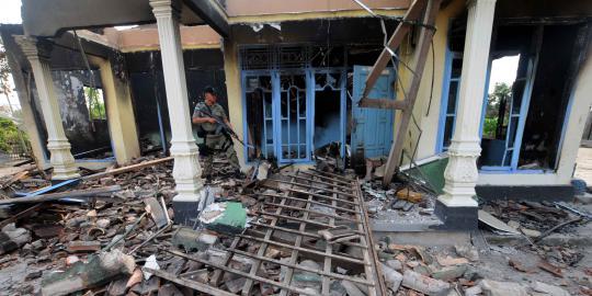 Pascabentrok Lampung, banyak warga kehilangan anggota keluarga