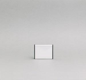 62x75mm vienpusė lentelė numeriui su juodais antgaliais