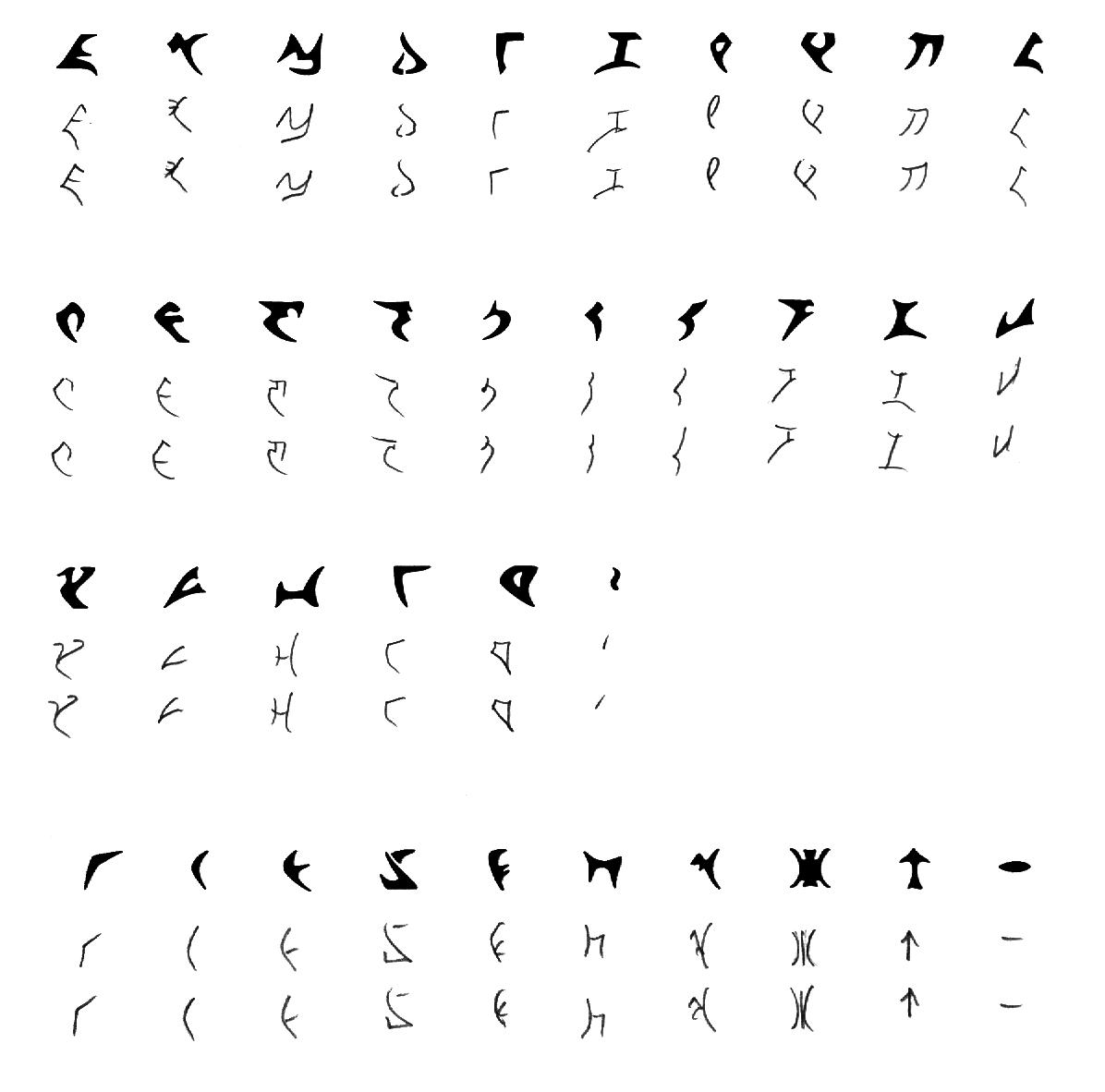 Some Pictures Of PIqaD Klingonska Akademien