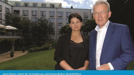 Janine Ziemer und Hermann Buhlert