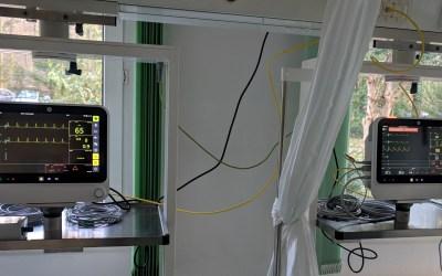 Neue Monitore für Überwachungsstation erhöhen die Patientensicherheit