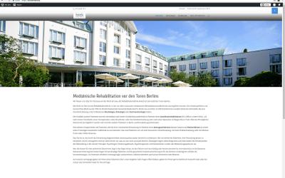 neue Homepage der Klinik am See online