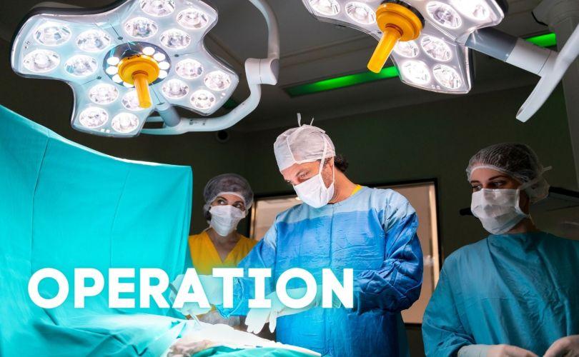 #krankenhaus operation vorbereiten