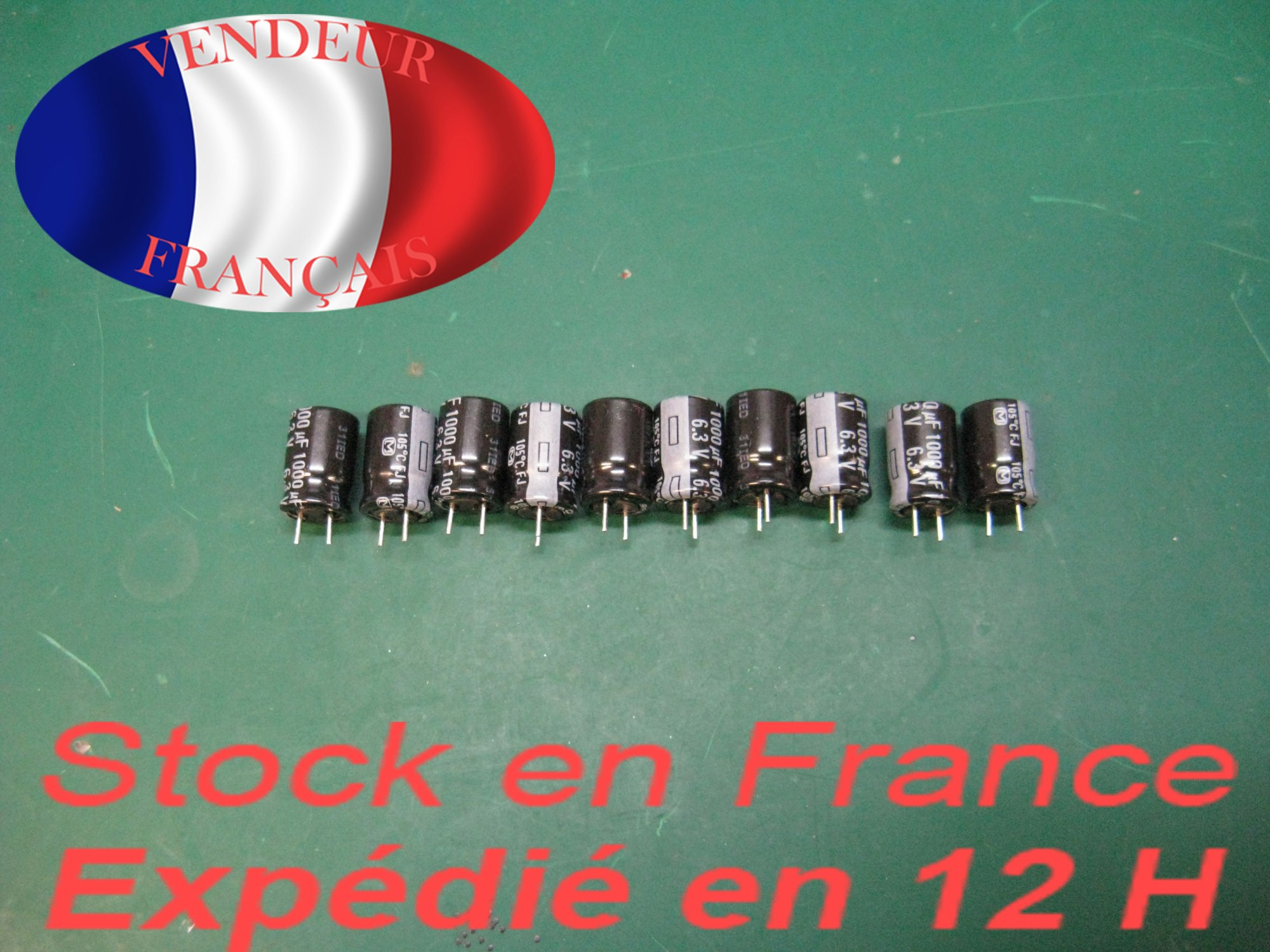 hight resolution of 10 capacitors 6 3 v 1000uf 105 c
