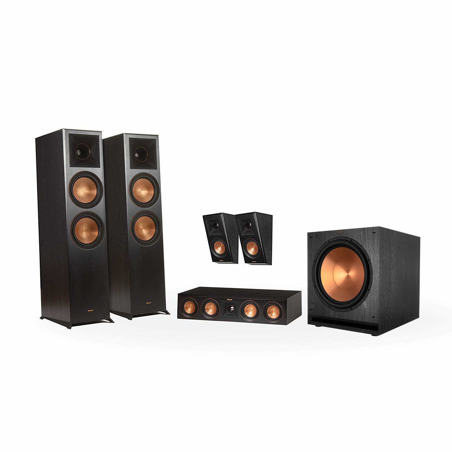 rp 8000f 5 1 home theater system klipsch