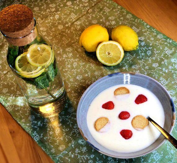 Rezept für koldskål uden æg – dänische Kaltschale ohne Ei