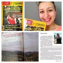 """Virginijos Pupeikytės-Dzhumerovos knygos """"Prisijaukinti Bulgariją"""" ištraukos publikuotos žurnale"""" Kelionės ir pramogos""""."""