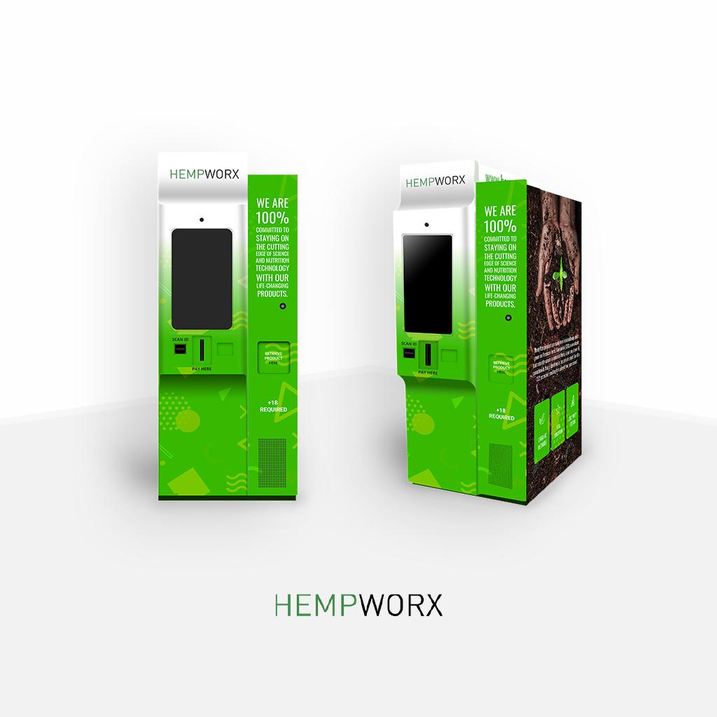 Hempworx Vending Machine 16