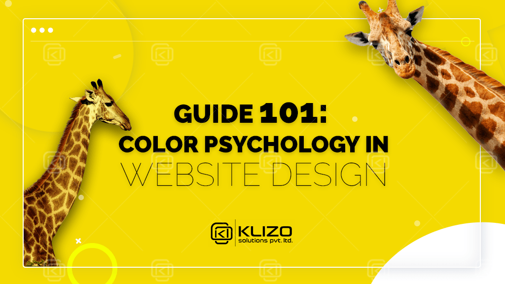 color psychology in web design guide by klizo solutions