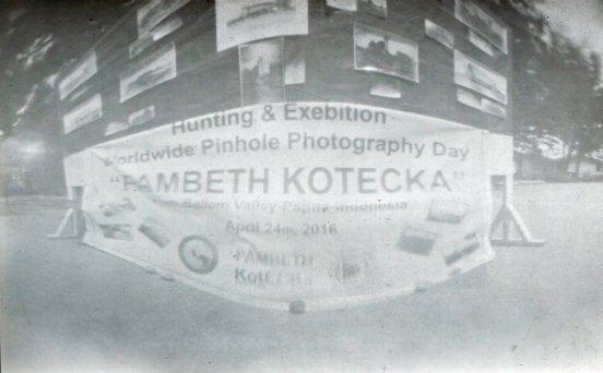 "Frederick Kafiar, ""Exebition"" Indonesia (member of PAMBETH KOTECKA group)"